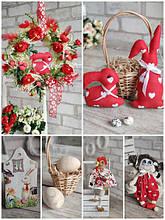 Великодній декор, прикраси та подарунки