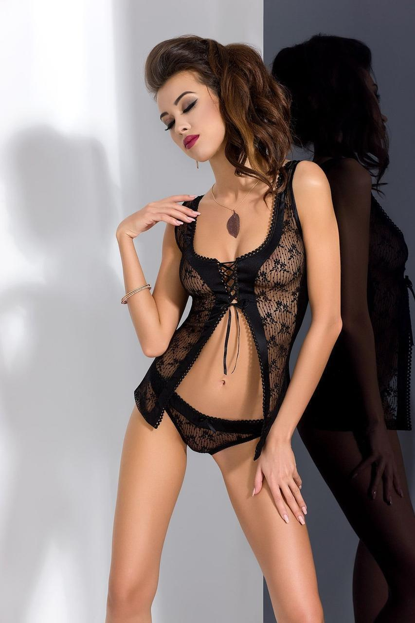 VIOLA CHEMISE black S/M - Passion Exclusive