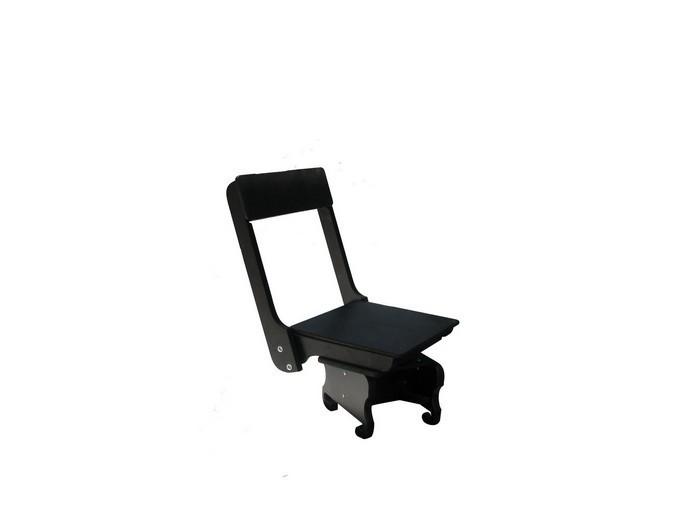 Поворотное сиденье деревянное для надувных лодок Aqua-Storm