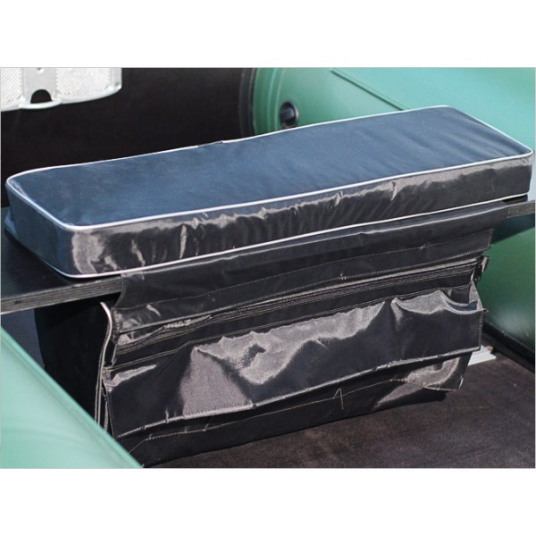 Мягкое сидение + сумка рундук 710*200*50 Aqua-Storm черный
