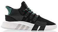 """Мужские кроссовки Adidas Equipment *EQT* ADV Core """"Black Sub Green"""" - """"Черные Зеленые"""""""