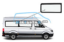 Боковое стекло Volkswagen Crafter 2016-2020 средняя база заднее правое