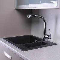 Кухонная мойка из литого камня Fancy Marble Arizona 1 5 чаши 600*500*215
