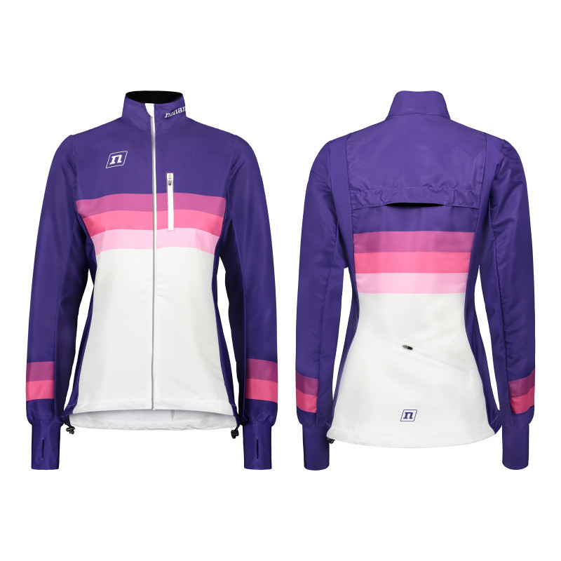 Мастерка Noname WS RUNNING JACKET PLUS WO'S 20 WHITE VIOLET