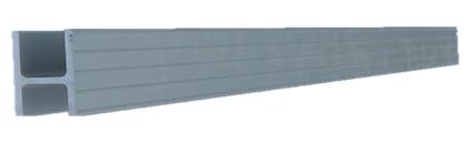 Алюминиевый профиль Aqua-Storm Н-образный 1м.