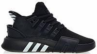 """Мужские кроссовки Adidas Equipment *EQT* Bask ADV """"Black White"""" - """"Черные Белые"""""""
