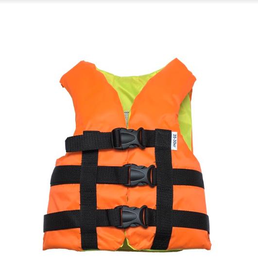 Страховочный желет  Aqua-Storm (NEW) оранжево-желтый  20-30 кг