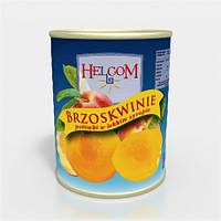 Helcom персики половинки 850 мл.