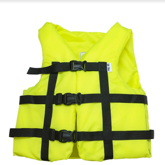 Страховочный жилет  Aqua-Storm (NEW) желтый  50-70 кг