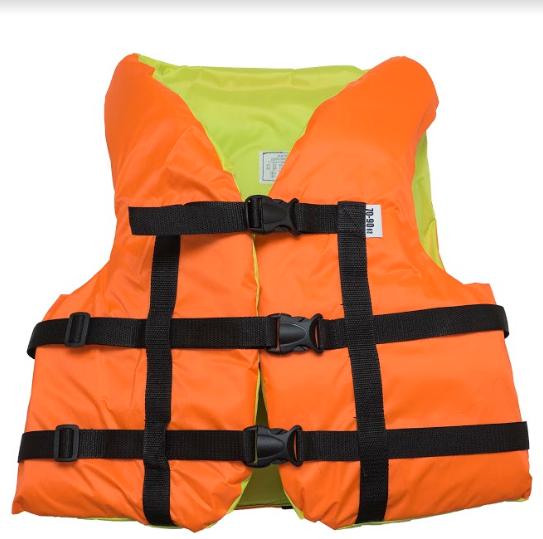 Страховочный желет  Aqua-Storm (NEW) оранжево-желтый  70-90 кг