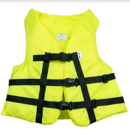 Страховочный желет  Aqua-Storm (NEW) желтый 90-110 кг