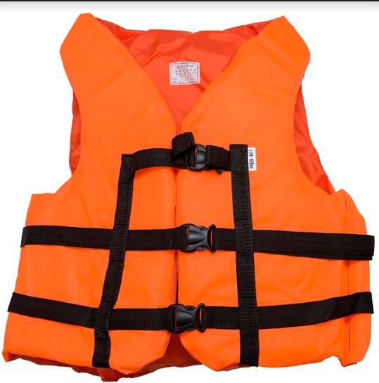 Страховочный желет  Aqua-Storm (NEW) оранжевый 120-160 кг