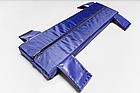 Мягкое сидение 650*200*50 мм для надувных лодок Aqua-Storm синий, фото 2
