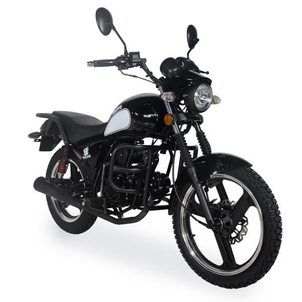 Мотоцикл малокубатурный Musstang Viking MT125-V Черный