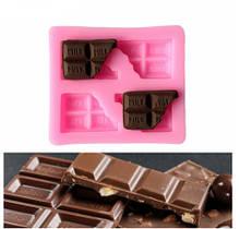 "Молд кондитерский ""Шоколад"" - размер молда 6*7см, силикон"