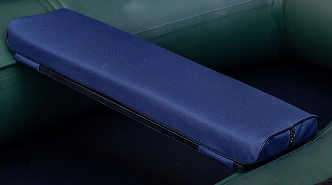 Сиденье мягкое 710*200*50 мм с кедром №2 Aqua-Storm синий