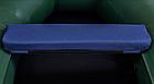 Сиденье мягкое 710*200*50 мм с кедром №2 Aqua-Storm синий, фото 2