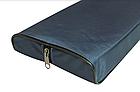 Сиденье мягкое 710*200*50 мм с кедром №2 Aqua-Storm черный, фото 2