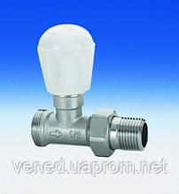 Клапан прямой ручной для радиатора DN15