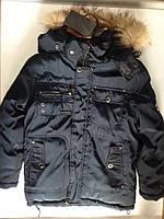 Детская зимняя куртка шикарного качества рост 134-158, фото 1