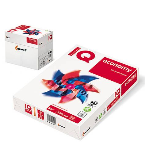 Бумага IQ Economy А4, 80г/м2, 500листов IQ.A4.80.C, фото 2