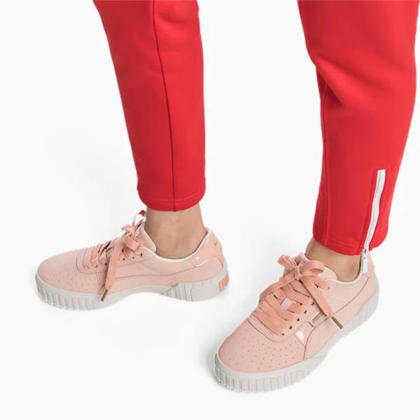 Кроссовки женские Puma Nubuck розовые (369161-01)