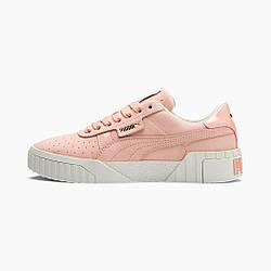 Кроссовки женские оригинальные Puma Cali Nubuck кожаные розовые