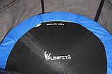 Батут Funfit 435см (14ft) диаметр с внешней сеткой спортивный для детей и взрослых, фото 3