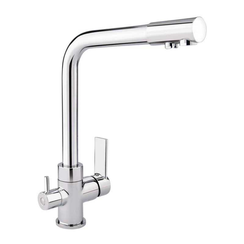 Смеситель для кухни с фильтром Q-tap Form CRM 007F-2