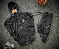Спортивный костюм мужской Tommy Hilfiger x black осенний весенний | ТОП качество, фото 1