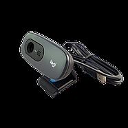 Logitech C270 HD Webcam Simple 720p video calls Black Grade C Refurbished (Уценка), фото 2