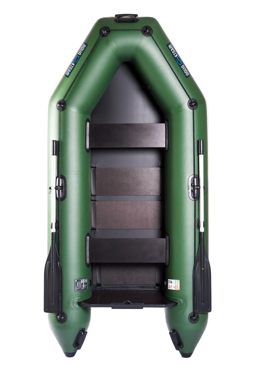 Лодка моторная надувная Aqua-Storm stm 280-40 двухместная моторная