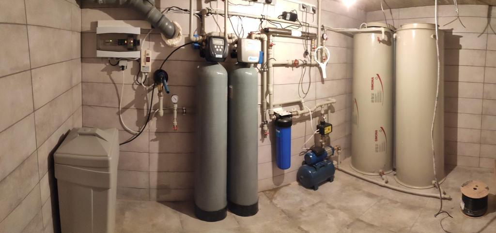 Система очистки води у котеджі (с. Ластівці)