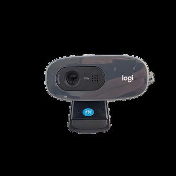 Logitech C270 HD Webcam Simple 720p video calls Black Grade B2 Refurbished