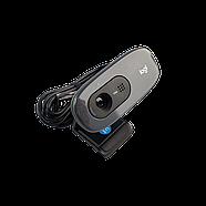 Logitech C270 HD Webcam Simple 720p video calls Black Grade B2 Refurbished, фото 2