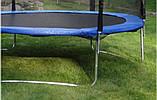 Батут SkyJump 404см (13ft) діаметр із зовнішнью сіткою та драбинкою, фото 2