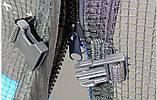 Батут SkyJump 404см (13ft) діаметр із зовнішнью сіткою та драбинкою, фото 6