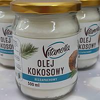 Кокосовое масло Vitanella olej kokosowy 500ml
