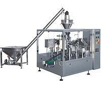 Автоматическая линия Фасовки сыпучих продуктов в готовый пакеты DPS-200F