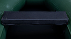 Сиденье мягкое 940*240*50 мм с кедром №2 Aqua-Storm черный, фото 2
