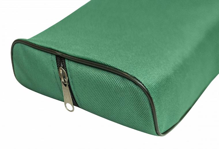 Сидіння м'яке 940*240*50 мм з кедром №2 Aqua-Storm зелений