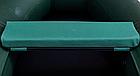 Сидіння м'яке 940*240*50 мм з кедром №2 Aqua-Storm зелений, фото 2