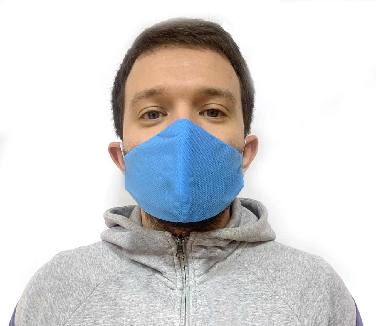 Многоразовая защитная маска от вирусов и инфекций антибактериальная для лица 10 шт.