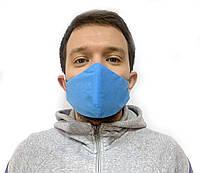 Многоразовая защитная маска от вирусов и инфекций антибактериальная для лица 10 шт., фото 1