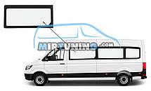 Боковое стекло Volkswagen Crafter 2016-2020 длинная база переднее левое