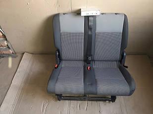 №20 Б/у сиденья задние (середній ряд без одинарного) для VW Caddy 2003-2010