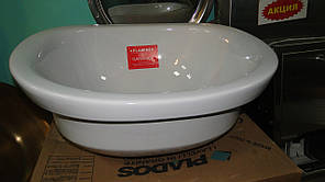 Вбудовувана Раковина керамічна Flaminia IO IO4260 (біла)