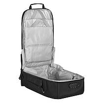 Рюкзак-сумка міської Ozuko 9225 Black дорожня трансформер для подорожей з USB-портом кодовим замком, фото 2