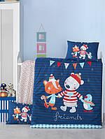 Детский комплект постельного белья Bebek Winter 100x150 (35233)