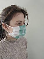 ЗАЩИТНАЯ повязка, Защитная маска. Трёхслойная., фото 1